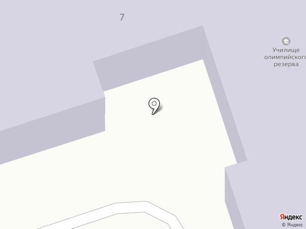 Училище олимпийского резерва на карте Ангарска