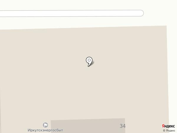 Иркутскэнергосбыт на карте Ангарска