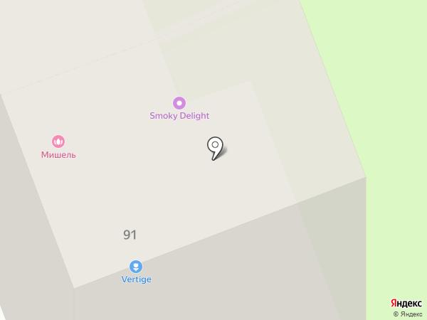 Мишель на карте Ангарска