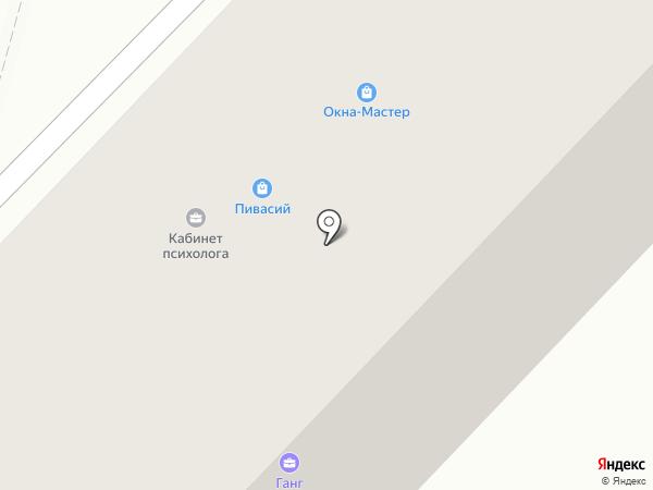 Анир на карте Ангарска