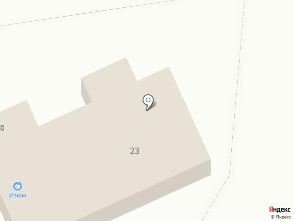 Изюм на карте Ангарска
