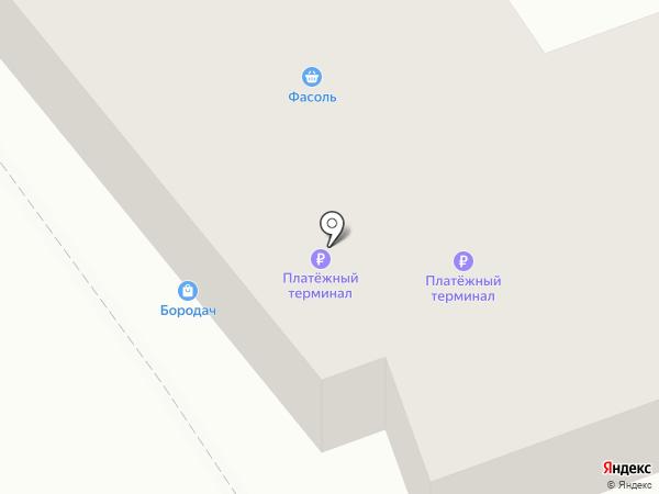 Бородач на карте Ангарска