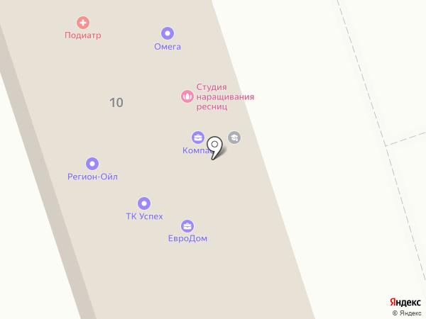 Империя вакансий на карте Ангарска