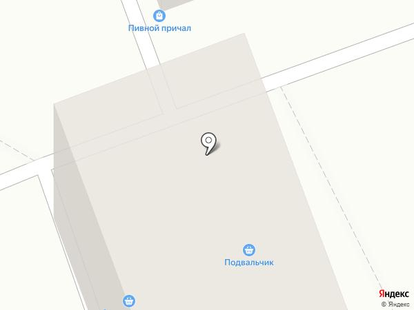 Магазин разливных напитков на карте Ангарска