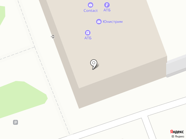 Банкомат, Азиатско-Тихоокеанский банк, ПАО на карте Ангарска
