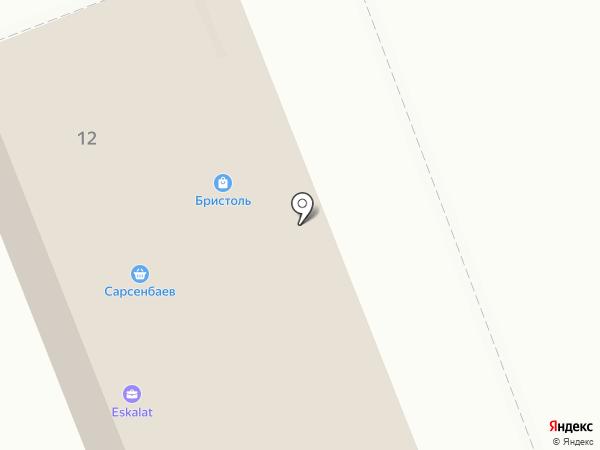 Магазин подарков и сувениров на карте Ангарска