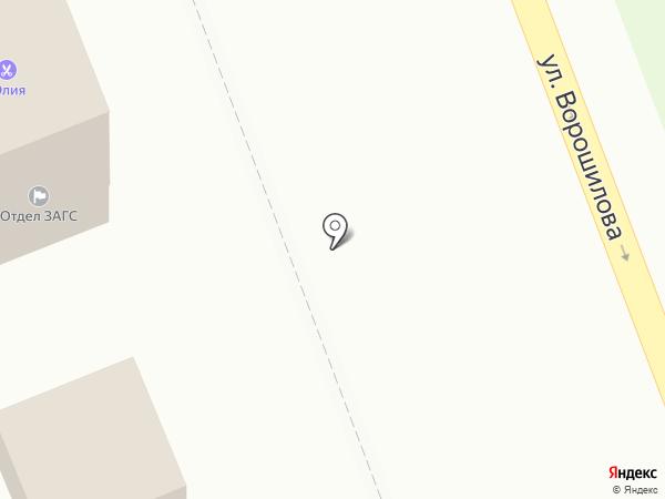 Салон цветов на ул. 85-й квартал на карте Ангарска