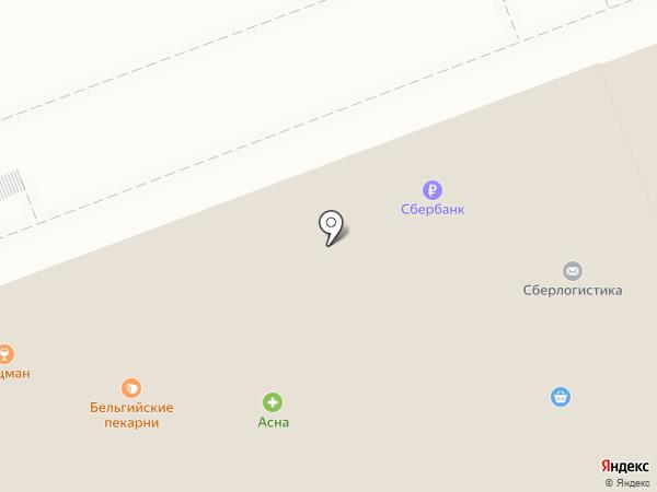 Сбербанк, ПАО на карте Ангарска