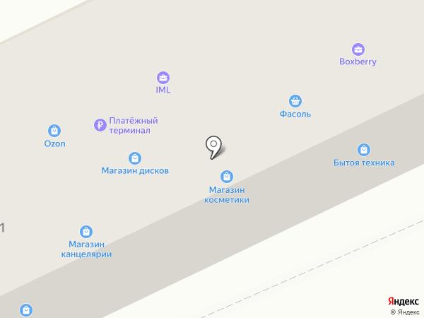 Ривьера на карте Ангарска
