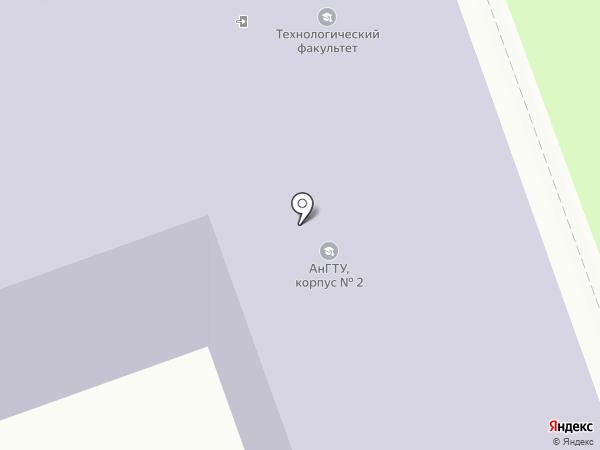 АГТА на карте Ангарска