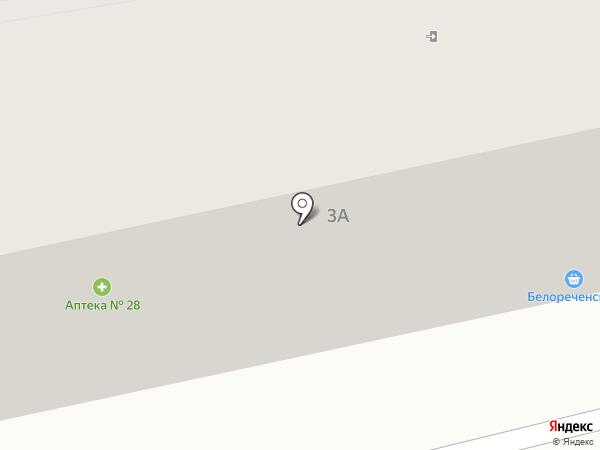 Аптека №88 на карте Ангарска
