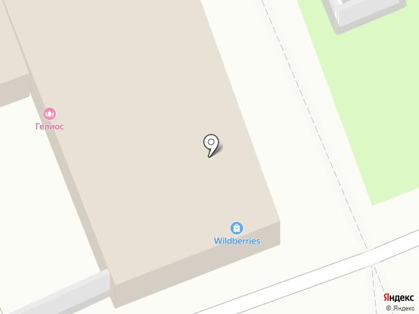 Гелиос на карте Ангарска
