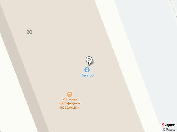 Первый гипермаркет колясок на карте Ангарска