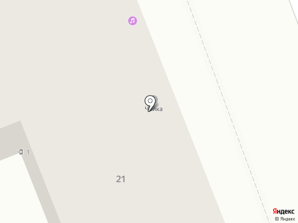Чайка на карте Ангарска