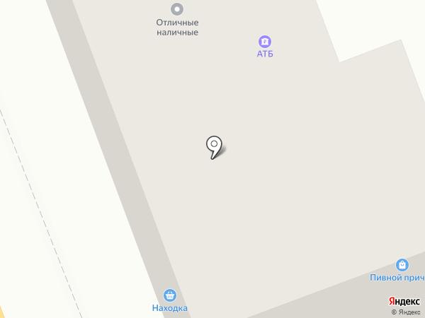 Находка на карте Ангарска