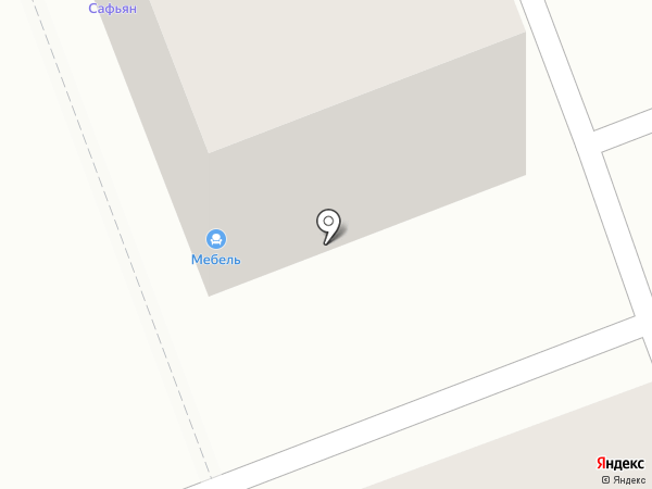 Планета-Мебель на карте Ангарска