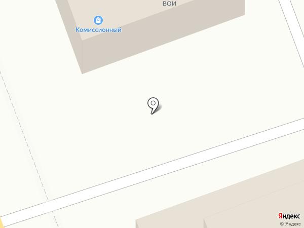 Вечерний на карте Ангарска