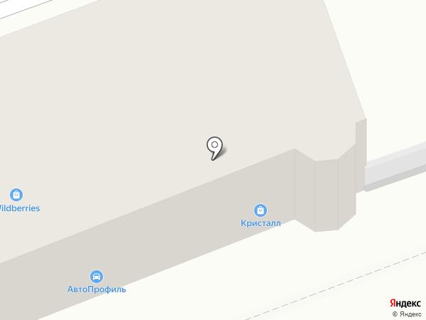 Жемчужина + на карте Ангарска