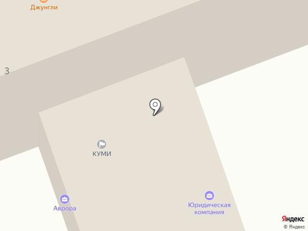 Филин на карте Ангарска