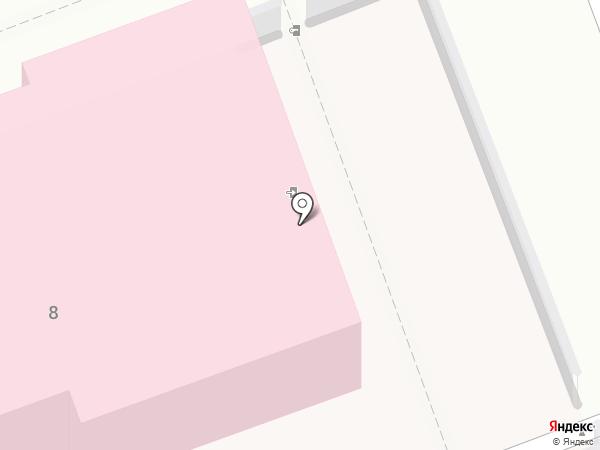 Иркутский областной кожно-венерологический диспансер на карте Ангарска