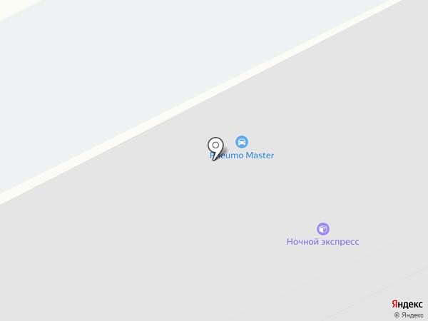 Гермес 3 на карте Ангарска