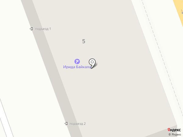 Адвокатский кабинет Гриднева С.В. на карте Ангарска