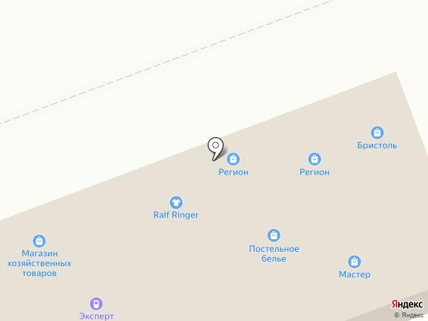 Магазин хозяйственных товаров на карте Ангарска