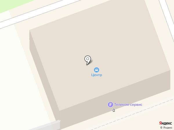 Телекомсервис на карте Ангарска