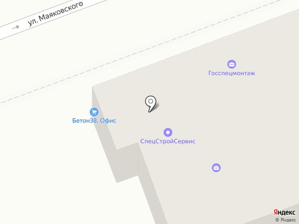 Бетон38 на карте Ангарска