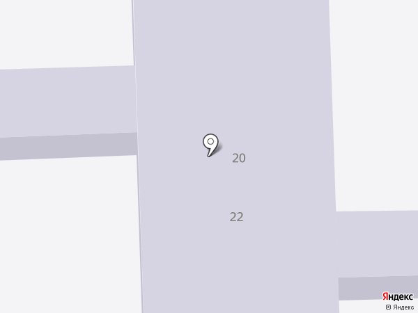 Детский сад №72 присмотра и оздоровления на карте Ангарска