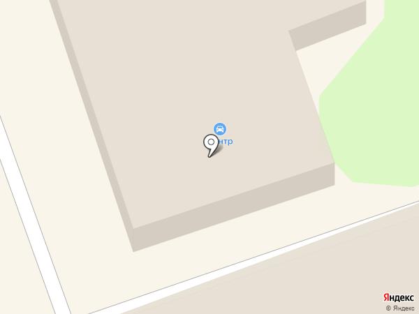 Центр на карте Ангарска
