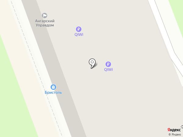 Мелодия на карте Ангарска