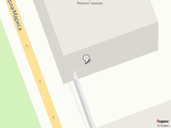 Талисман на карте Ангарска