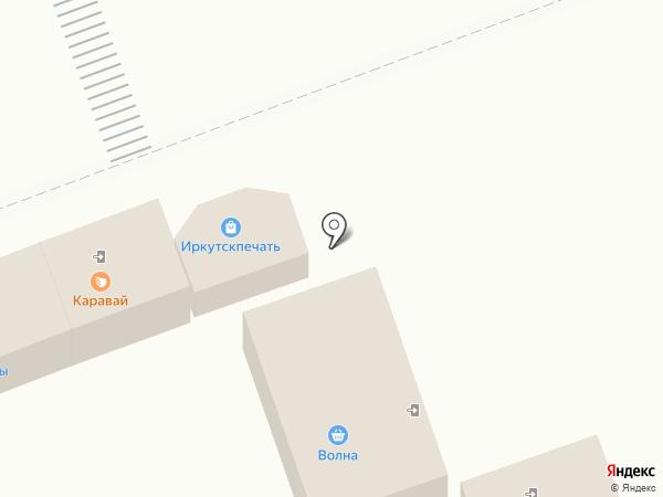Волна на карте Ангарска