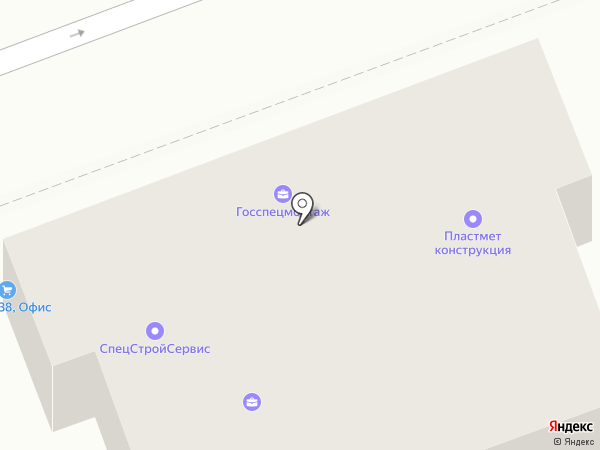 Госспецмонтаж на карте Ангарска
