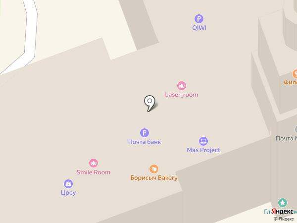 Почтовое отделение №30 на карте Ангарска