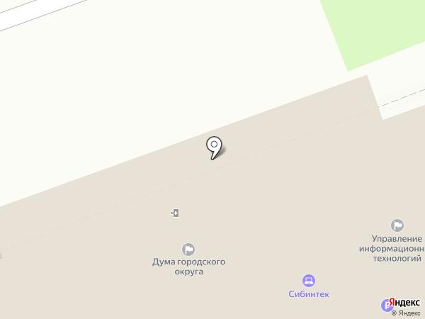 Администрация Ангарского городского округа на карте Ангарска