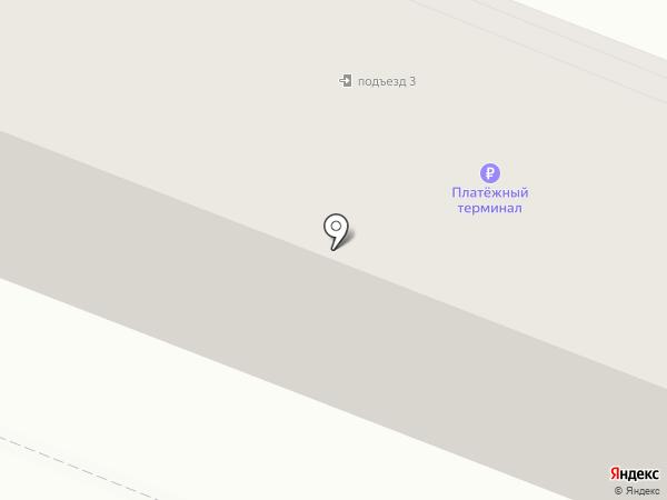 Витязь на карте Ангарска
