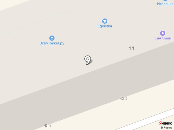 Vsem-buket.ru на карте Ангарска