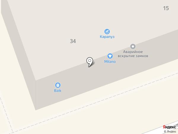 Baik-Al на карте Ангарска