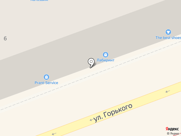 Лабиринт.ру на карте Ангарска