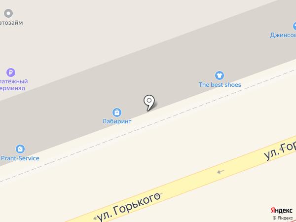 Пеликан на карте Ангарска