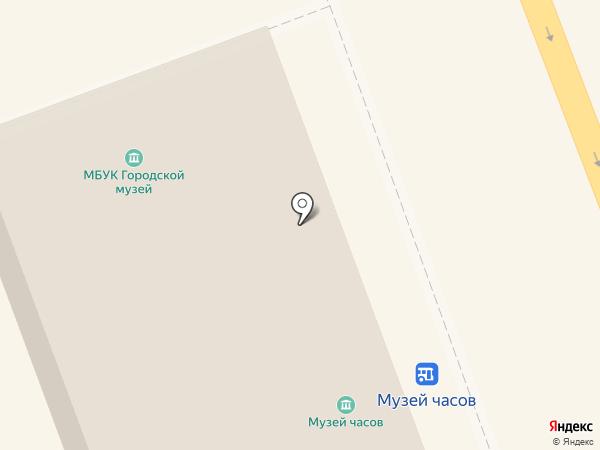 Ангарский городской музей на карте Ангарска