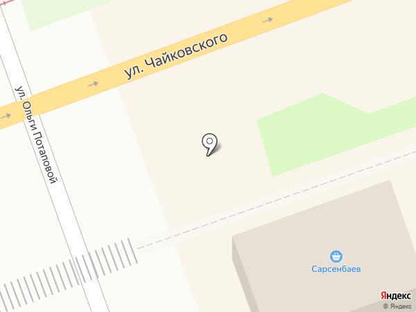 Универмаг на карте Ангарска