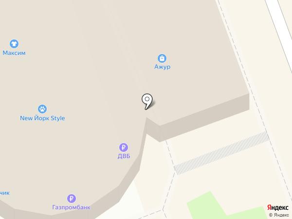 Банкомат, Дальневосточный банк, ПАО на карте Ангарска