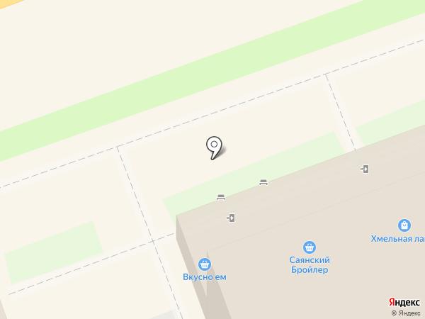 Хмельная лавка на карте Ангарска