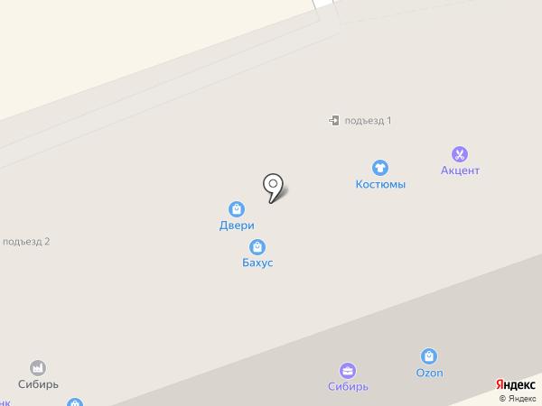КВАДРАТ на карте Ангарска