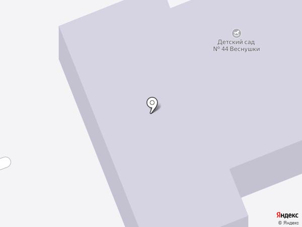 Детский сад №15 присмотра и оздоровления на карте Ангарска