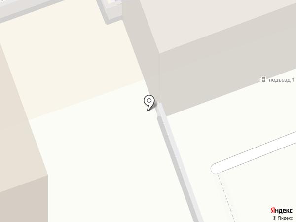 Штамп на карте Ангарска
