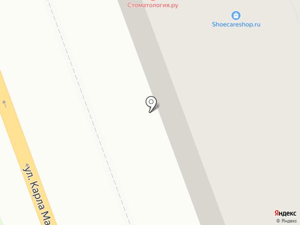 Эскулап на карте Ангарска